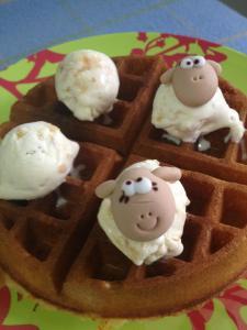 sheep waffle