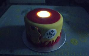 Iron Man Arc Reactor Cake Cake Fairy Tales