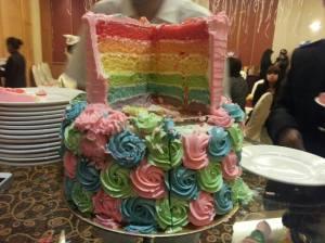 unicorn rainbow inside