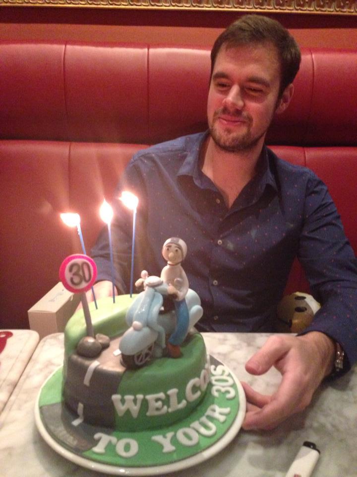 Vespa Cake Cake Fairy Tales